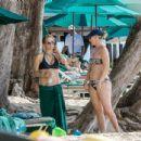 Tea Leoni in Bikini on holiday in Barbados - 454 x 434