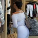 Adrienne Bailon was seen out doing some shopping at Alo Yoga in Beverly Hills, California on March 31, 2017 - 420 x 600