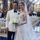 Ana Beatriz Barros and Karim El Chiaty- wedding ceremony in Mykonos, Greece - 454 x 325