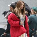 Katharine Mcphee on 'The Lost Wife Of Robert Durst' set in Vancouver - 454 x 681