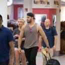 Britney Spears and boyfriend Sam Asghari – Leaves Miami Beach