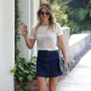 Ali Larter in a denim mini skirt shopping in West Hollywood - 454 x 681