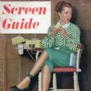 Lana Turner - Screen Guide Magazine Cover [United States] (July 1947)