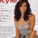 Courteney Cox InStyle Magazine December 2002 Pictorial Photo - United States