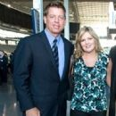 Troy Aikman and Rhonda Worthey