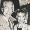Charlie Watts and Shirley Watts - 454 x 554