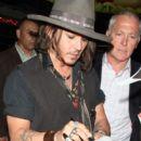 Johnny Depp at the Pink Taco 2