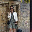 Pippa Middleton – Walking her dogs in London - 454 x 681