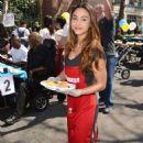 Lindsey Morgan – Los Angeles Mission Easter Celebration in LA - 454 x 681