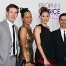Zach Cregger, Tempestt Bledsoe, Erinn Hayes and Jesse Bradford attend the 2013 People's Choice Awards at Nokia Theatre L.A. Live in Los Angeles on Jan. 9, 2013 - 454 x 302
