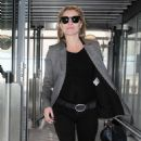 Kate Moss Arriving At Heathrow Airport In London