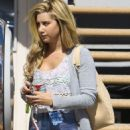 Ashley Tisdale: Out in Studio City
