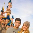 Perrie Edwards and Zayn Malik got some pictures with the world's most famous mouse for his 21st birthday!