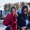 Kylie Jenner – Leaving Nobu with Jordyn Woods in Malibu
