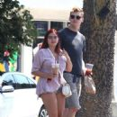 Ariel Winter and Levi Meaden out in Studio City - 454 x 680