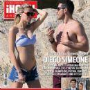 Diego Simeone and Carla Pereira - 454 x 620