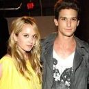 Megan Park and Daren Kagasoff