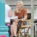 Jennie Garth Filming Her Last Day On 'The 11th Victim'