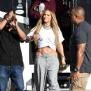 Jennifer Lopez – Arrives to shoot a video with DJ Khaled in Miami