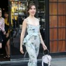 Alison Brie – Lleaves the Bowery Hotel in New York City