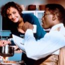 Lonette McKee and Wesley Snipes