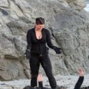 "Gina Carano - on ""Haywire"" set"