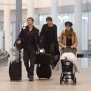 Nikki Reed and Ian Somerhalder – Arriving in Toronto - 454 x 497