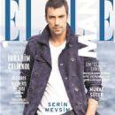 Ibrahim Celikkol - Elle Man Magazine Cover [Turkey] (November 2014)