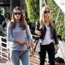 Bar Refaeli & Alessandra Ambrosio: Mauro's Cafe Chicks