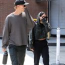 Vanessa Hudgens and Austin Butler Leaving a doctors office in Beverly Hills - 454 x 700