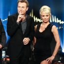 Pamela Anderson Visits TV Show Skavlan in Sweden October 24,2014