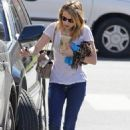 Emma Roberts - out and about in Los Angeles 12/11/10
