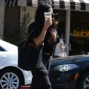 Vanessa Hudgens at Alfred Coffee in LA