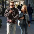 Heidi Montag and Spencer Pratt at Sugarfish in West Hollywood