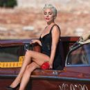 Lady Gaga – On A Water Taxi At Venice Film Festival 2018