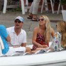 Ryan Seacrest and Julianne Hough in St Tropez july 11 2010