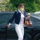 Ellen Pompeo – Seen after Jessica The Clinic nail salon visits in West Hollywood