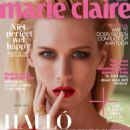 January Jones - Marie Claire Magazine Cover [Netherlands] (October 2015)