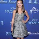 Mattea Conforti – 'Frozen 2' Premiere in Los Angeles
