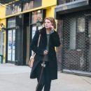 Mischa Barton – Walking her Dogs in Manhattan - 454 x 583