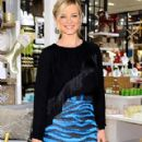 Amy Smart At the West Elm Los Angeles Holiday Party