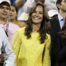 Pippa Middleton: attended Day Ten of the US Open in New York City