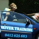 Delta Goodrem - Getting A Driving Lesson In Sydney - Feb 11, 2010