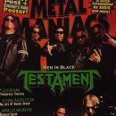 Chuck Billy - Metal Maniacs Magazine Cover [United States] (June 2008)