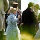 Holliday Grainger - On set of 'My Cousin Rachel'