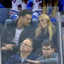Annasophia Robb At A Hockey Game In New York