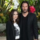 Winona Ryder and Keanu Reeves – 'Destination Wedding' Photocall in Beverly Hills - 454 x 595