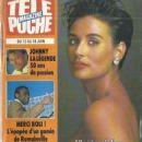 Demi Moore - Tele Poche Magazine Cover [France] (7 June 1993)