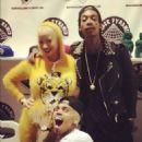 Wiz Khalifa and Amber Rose - 454 x 532
