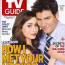 Josh Radnor, Cristin Milioti - TV Guide Magazine Cover [United States] (31 March 2014)